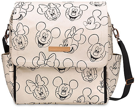 Disney Mickey and Minnie Mouse Sketch Backpack Diaper Bag by Petunia Pickle Bottom
