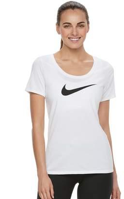 Nike Women's Swoosh Short Sleeve Graphic Tee