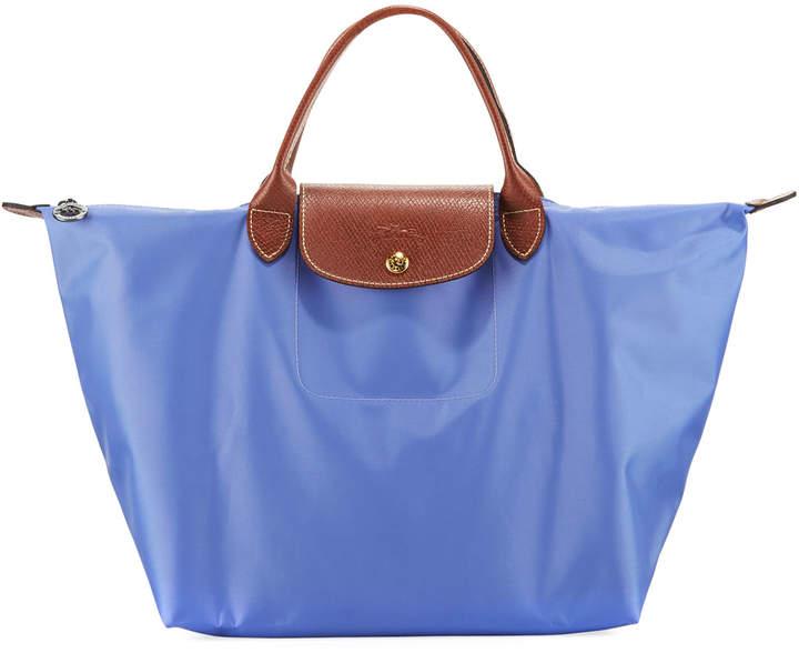 Longchamp Le Pliage Medium Nylon Handbag - LILAC - STYLE