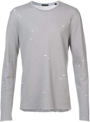 ATM Anthony Thomas Melillo speckled print T-shirt