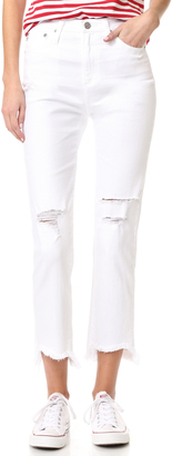 AG The Phoebe High Waisted Tapered Jeans $235 thestylecure.com