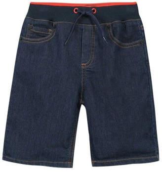 Kenzo 8-12Y Denim Bermuda Shorts