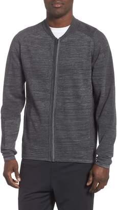 Zella Tech Sweater Baseball Jacket