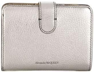 Alexander McQueen skull folded coin purse