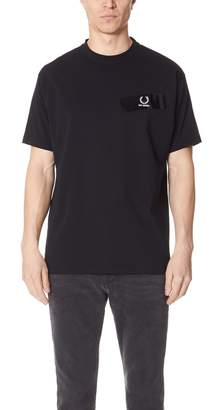 Raf Simons Fred Perry By Fred Perry by Tape Detail Tee