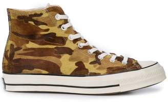 Converse Chuck 70 Hi camouflage sneakers