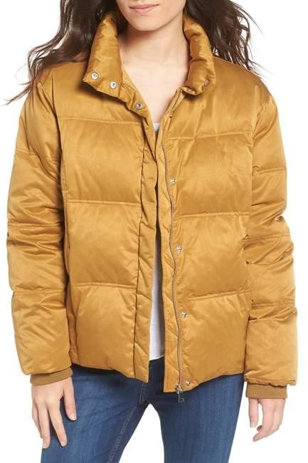 TopshopTOPSHOP Emily Puffer Jacket