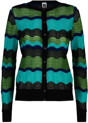 M Missoni Wool Wave Cardigan