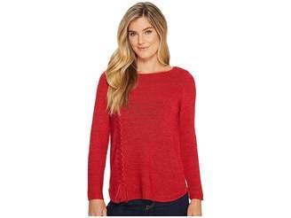 Nic+Zoe Braided Up Top Women's Sweater