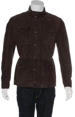 Brunello Cucinelli Suede Field Jacket w/ Tags