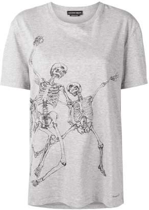 Alexander McQueen dancing skull printed T-shirt