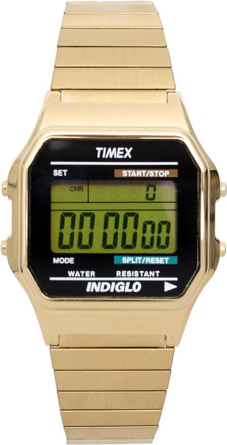 Timex Retro Digital Bracelet Watch