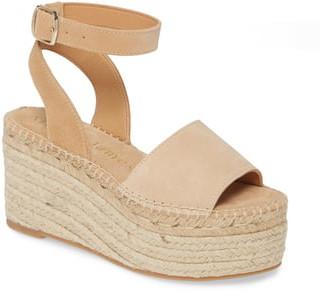 Allegra James Margie Platform Ankle Strap Espadrille Sandal