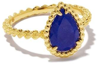 Boucheron 18kt yellow gold Serpent Bohème lapis lazuli ring