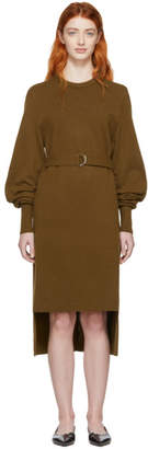 Chloé Brown Cashmere Knit Dress