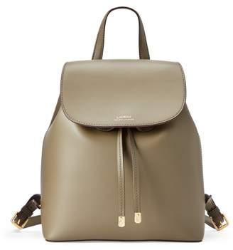Ralph Lauren Leather Drawstring Backpack