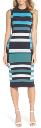 Vince Camuto Stripe Sweater Dress