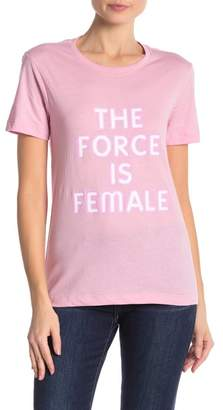 Rebecca Minkoff Delaney The Force is Female Graphic Tee