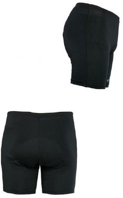 Unbranded Men's Gel Padded Cycling Shorts - XL
