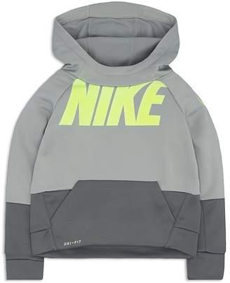 Nike Boys' Color-Blocked Logo Hoodie - Little Kid