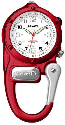 Dakota Mini Clip Microlight Carabiner, Red Pocket Watch 38792