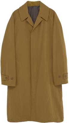 Camoshita Raglan sleeve twill coat