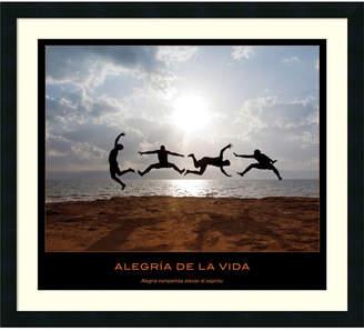 Alegria Amanti Art De La Vida Framed Art Print
