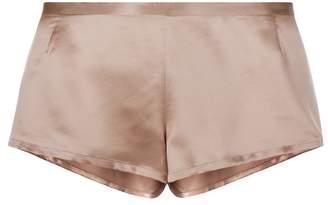 La Perla Silk Dusty Pink Silk Sleep Shorts