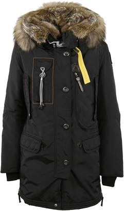 Parajumpers Fur Trim Hooded Parka