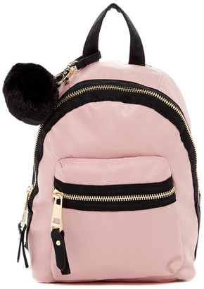 Madden Girl Bold Mini Nylon Backpack $58 thestylecure.com