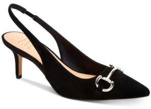 INC International Concepts I.n.c. Carynn Pointed-Toe Kitten Heels, Created for Macy's Women's Shoes