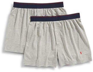 Polo Ralph Lauren 2 Pack Pima Blend Knit Boxers
