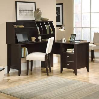 Three Posts Olney L-Shape Executive Desk