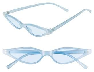 BP Exaggerated 54mm Mini Cat Eye Sunglasses