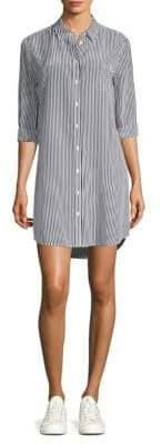 Equipment Brett Stripe Shirt Dress