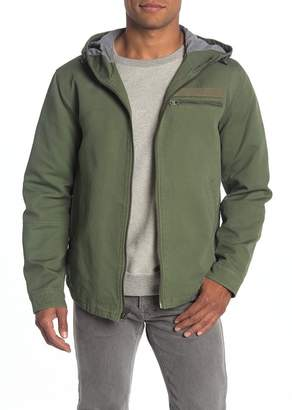 Levi's Hooded Canvas Jacket