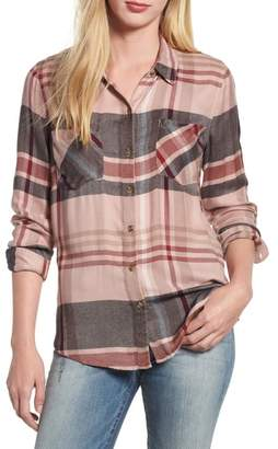 Lucky Brand Plaid Button Down Shirt