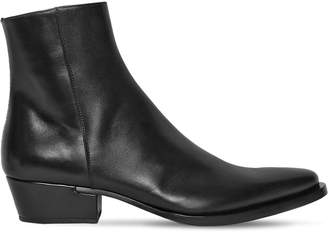 Givenchy 40mm Dallas Leather Boots