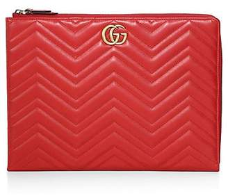 Gucci Matelasse Leather iPad Case