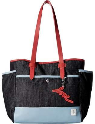 ED Ellen Degeneres Carmel Tote Tote Handbags