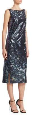 Erdem Erroll Sequin Shift Dress