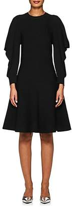 Opening Ceremony WOMEN'S OTTOMAN-KNIT A-LINE DRESS - BLACK SIZE XS