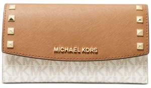 Michael Kors Michael Karla Leather Trifold Wallet