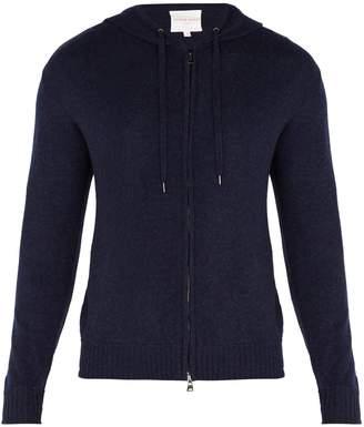 Derek Rose Finley hooded zip-through cashmere sweatshirt