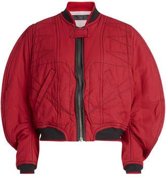 Haider Ackermann Quilted Cotton Bomber Jacket