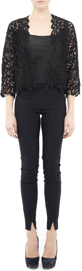 Nicole Miller Venezia Lace Bolero Jacket