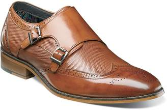 Stacy Adams Lavine Wingtip Monk Shoe