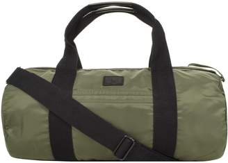 Fred Perry Sports Barrel Bag Green