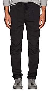 James Perse Men's Stretch-Cotton Poplin Utility Pants-Gray