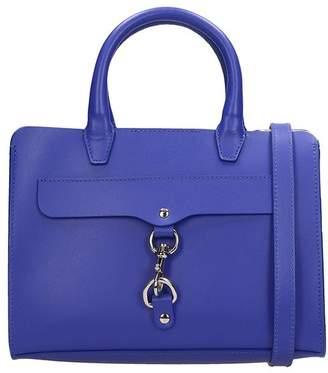 Rebecca Minkoff Blue Leather Mini Satchel Bag